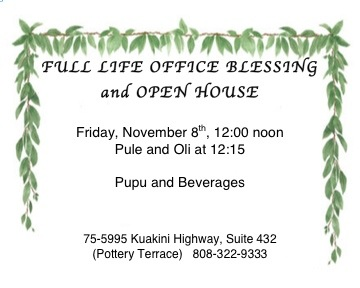 OFFICE BLESSING invite